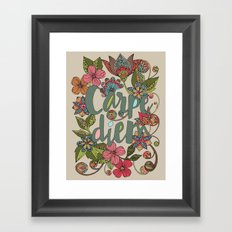 Carpe Diem Framed Art Print