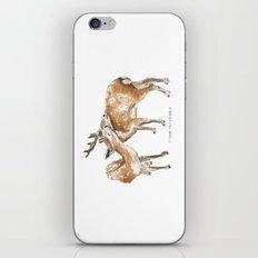 I Love You Deerly  iPhone & iPod Skin