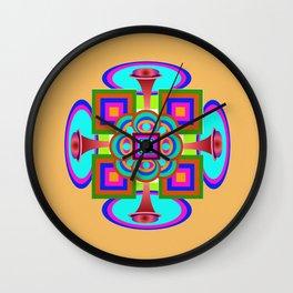 Pattern June Wall Clock