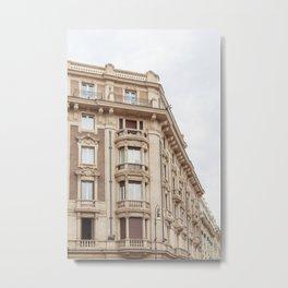 Roman Apartments Metal Print