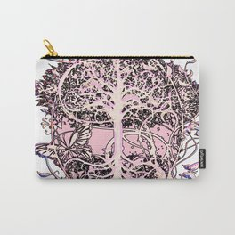 Butterflies and Tree of Life Carry-All Pouch