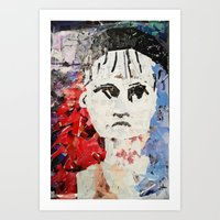 les miserables Art Prints featuring LES MISERABLES by JANUARY FROST