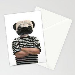 Pugsly Addams Stationery Cards