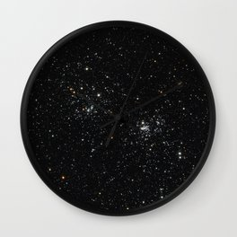 Perseus Double Cluster Wall Clock
