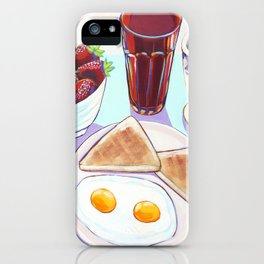 Sunny Side Up Breakfast iPhone Case