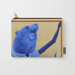 Bluebeary Carry-All Pouch