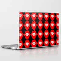 lip Laptop & iPad Skins featuring lip by Panic Junkie