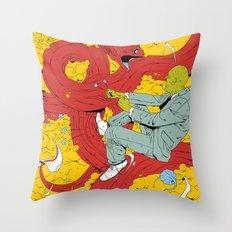 HVMR Throw Pillow