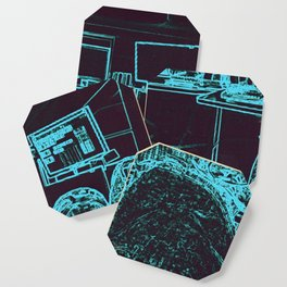 9-1-1 blue Coaster