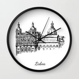 Lisboa monastery Wall Clock