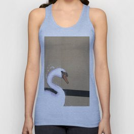 Empty Shell - 6 - The Swan Unisex Tank Top
