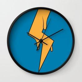 Greased Lightning Wall Clock