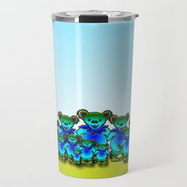 Boomer Bear Family 2 Travel Mug