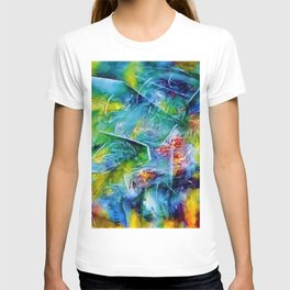 The Pleasure of Presence (Abstract expressionist and Surrealist Art) by R. Matta T-shirt