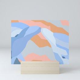 Dolphin Kiss in Pastel Mini Art Print