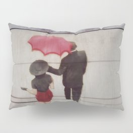 Walk In The Rain Pillow Sham