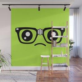 Sad little nerd. Wall Mural
