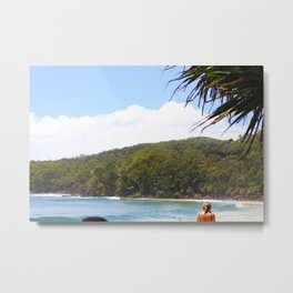 Noosa beach Metal Print