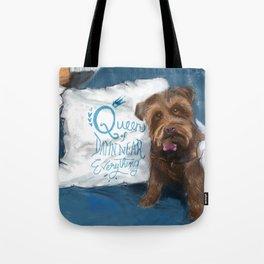 Queen Piper Tote Bag