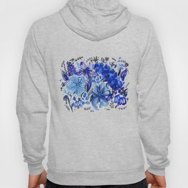 Blue flowers galore Hoody