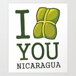 I nacatamal You Nicaragua Art Print