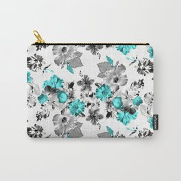 Hula Floral Carry-All Pouch