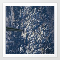 Pyrenees Mountains Art Print