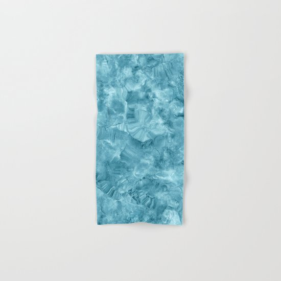 Blue onyx marble Hand & Bath Towel