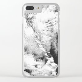 Atlas Collection #1 Clear iPhone Case