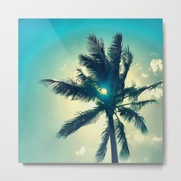 Seventh Palm Metal Print