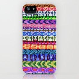 Peru Stripe II iPhone Case