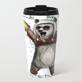 Panda Style Metal Travel Mug