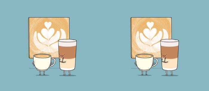 Latte art Coffee Mug
