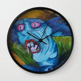 Madder Hatter Wall Clock