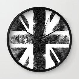 Black Union Jack Wall Clock