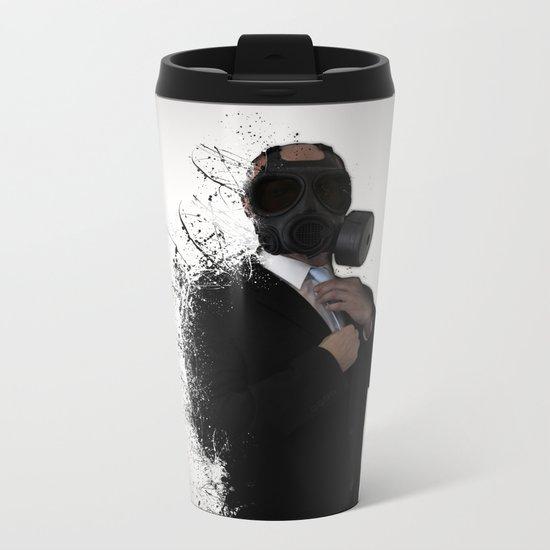 Dissolution of man Metal Travel Mug
