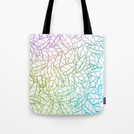 Sketchy Palms in Cotton Candy Tote Bag