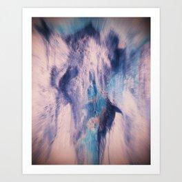 Exhaling Art Print