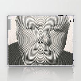 Winston Churchill Spiral Portrait Laptop & iPad Skin