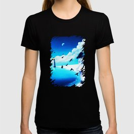 Lighthouse At The Sea T-shirt