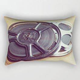 Old movie films Rectangular Pillow