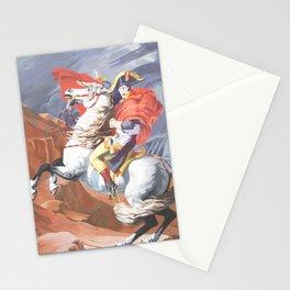 Crossing the St. Bernard II Stationery Cards