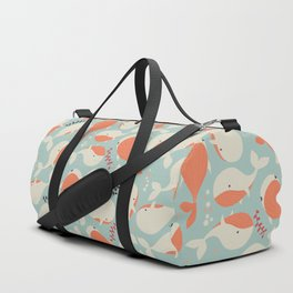 Whales 003 Duffle Bag