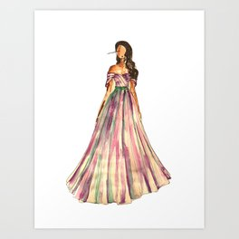 Belle Of The Ball Art Print