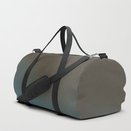 Abstract Alcohol Ink 5639 Brown Blue Combo Duffle Bag