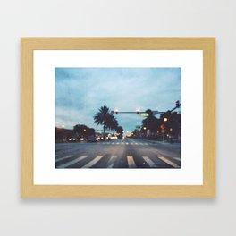 Lucerne Avenue Framed Art Print