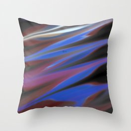 Smudged Colours 8 Throw Pillow