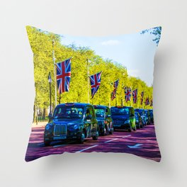 The London Drive Throw Pillow