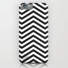 Black and white chevrons iPhone 6 Slim Case