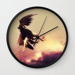 The Prey Wall Clock